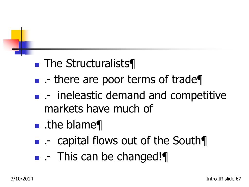 The Structuralists¶