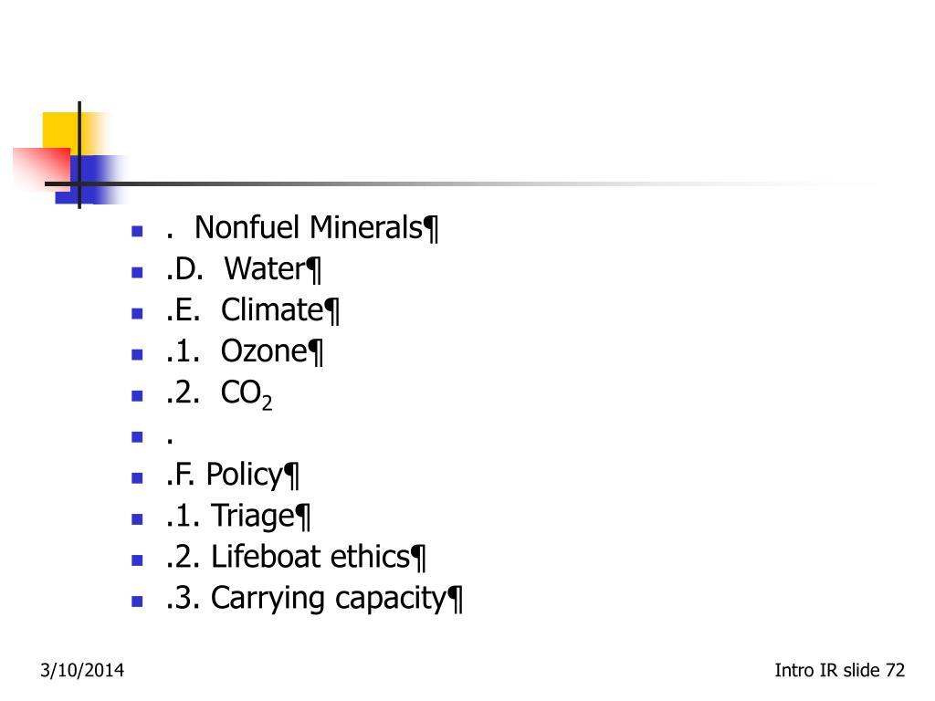 .  Nonfuel Minerals¶