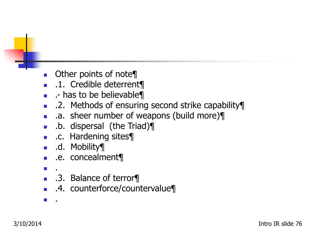 Other points of note¶