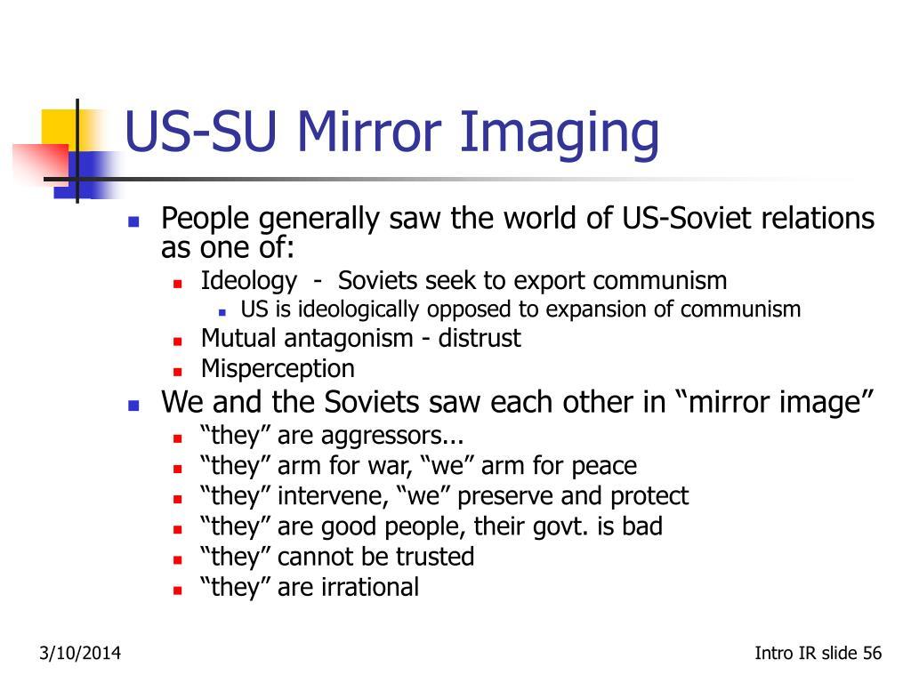 US-SU Mirror Imaging