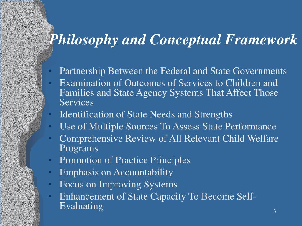 Philosophy and Conceptual Framework