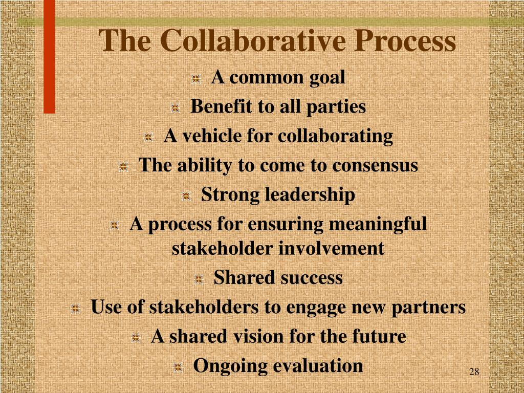 The Collaborative Process