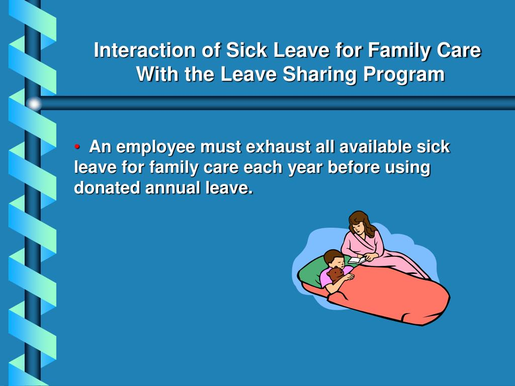 Interaction of Sick Leave for Family Care