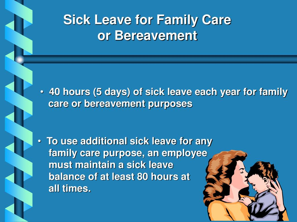 Sick Leave for Family Care