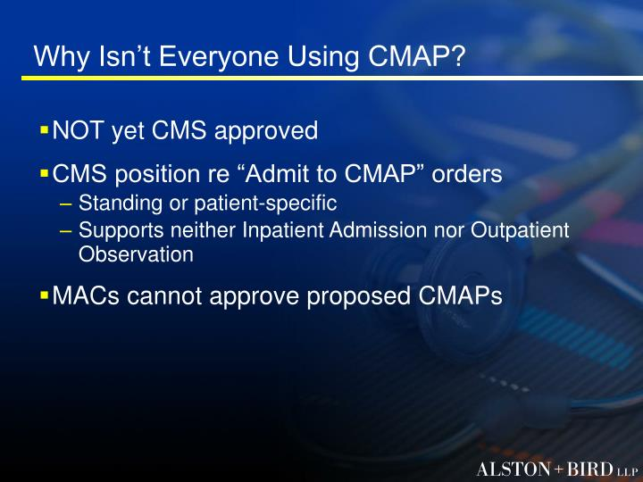 Why Isn't Everyone Using CMAP?