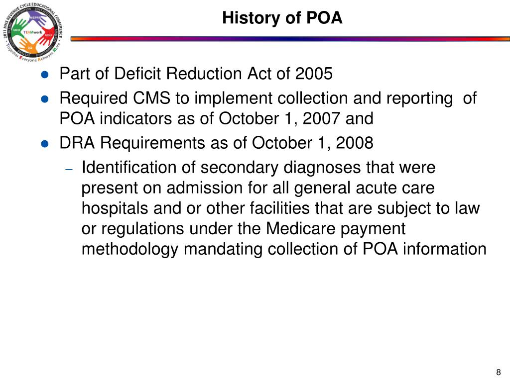 History of POA