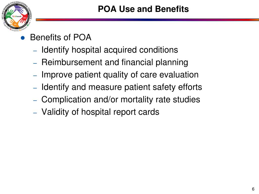 POA Use and Benefits