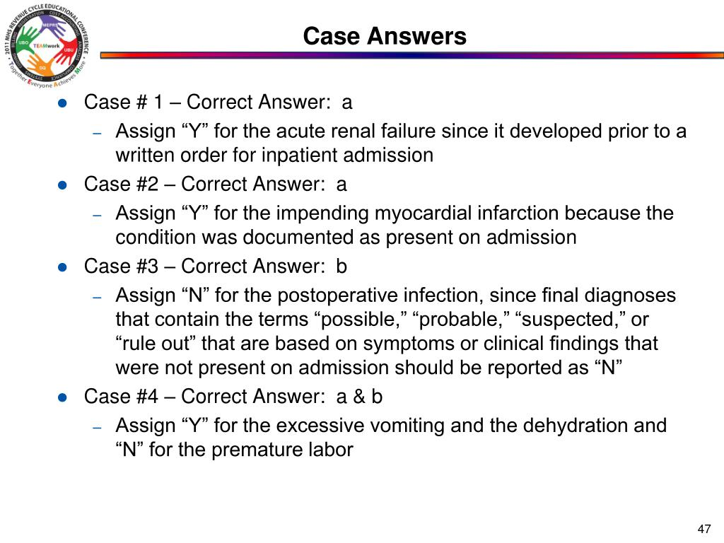 Case Answers