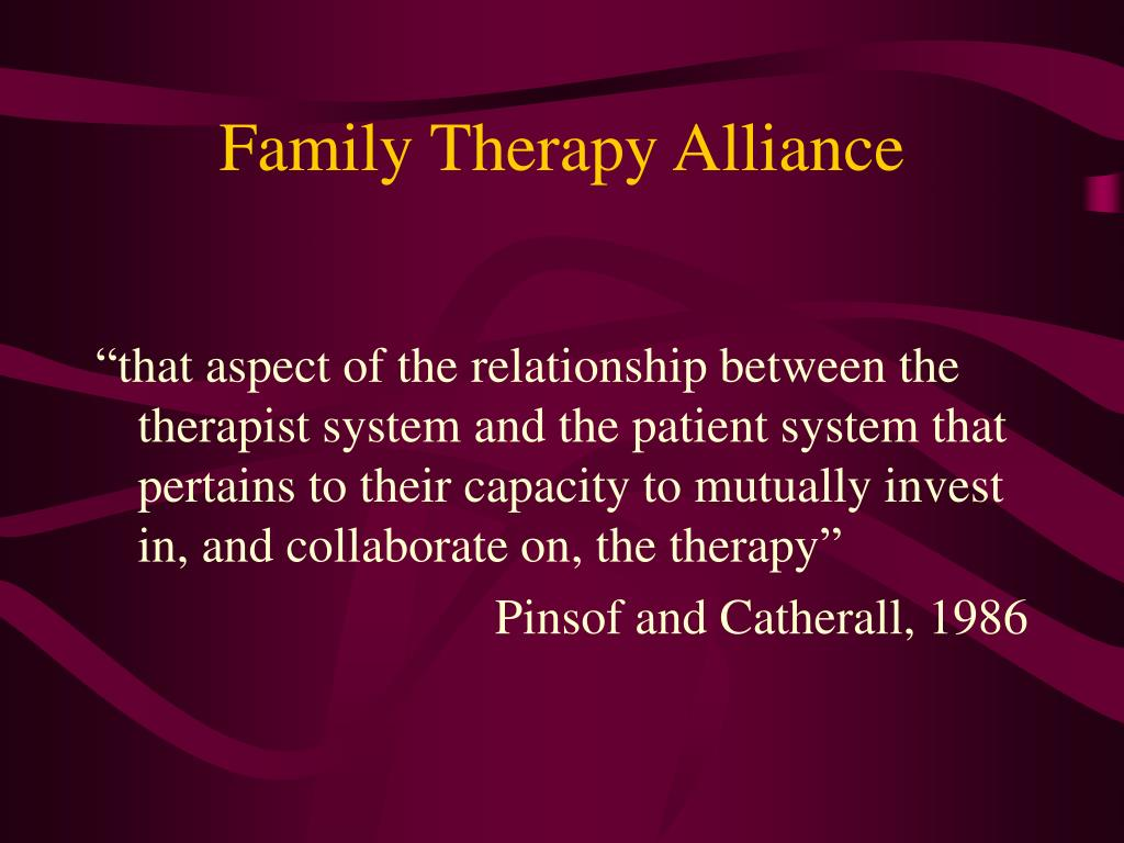 Family Therapy Alliance
