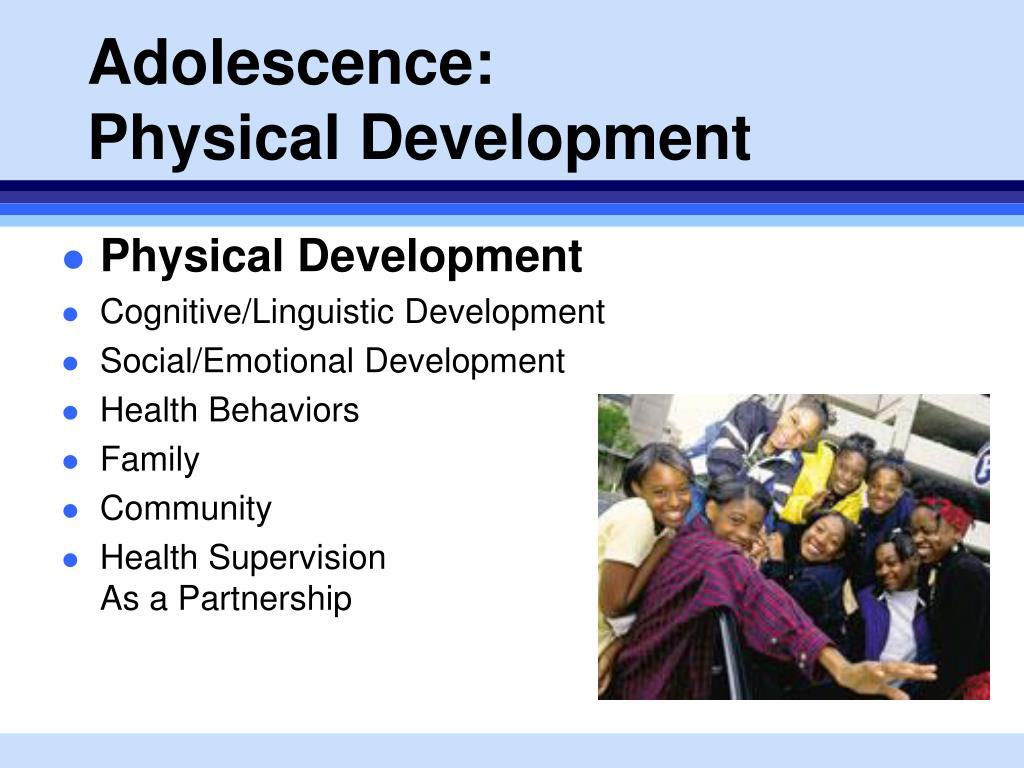 adolescence physical and cognitive development Cognitive development means the growth of a child's ability to think and reason this growth happens differently from ages 6 to 12, and ages 12 to 18 cognitive development in adolescence | lifespan.