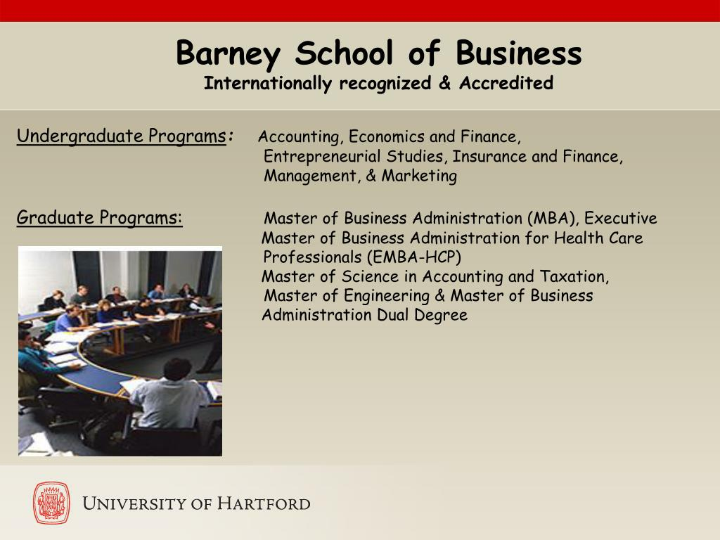 Barney School of Business