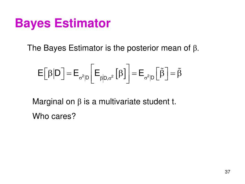 Bayes Estimator