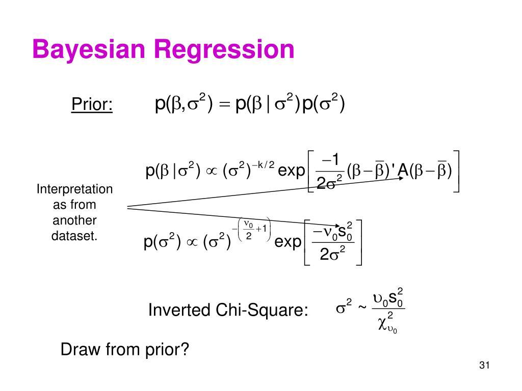 Bayesian Regression