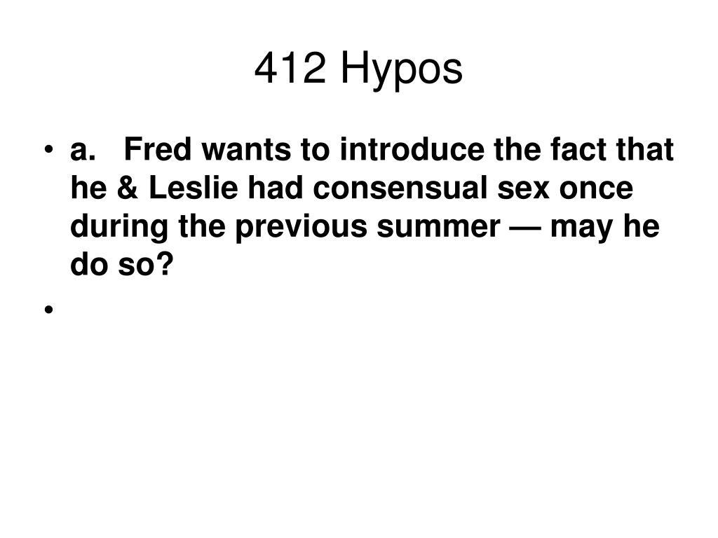 412 Hypos