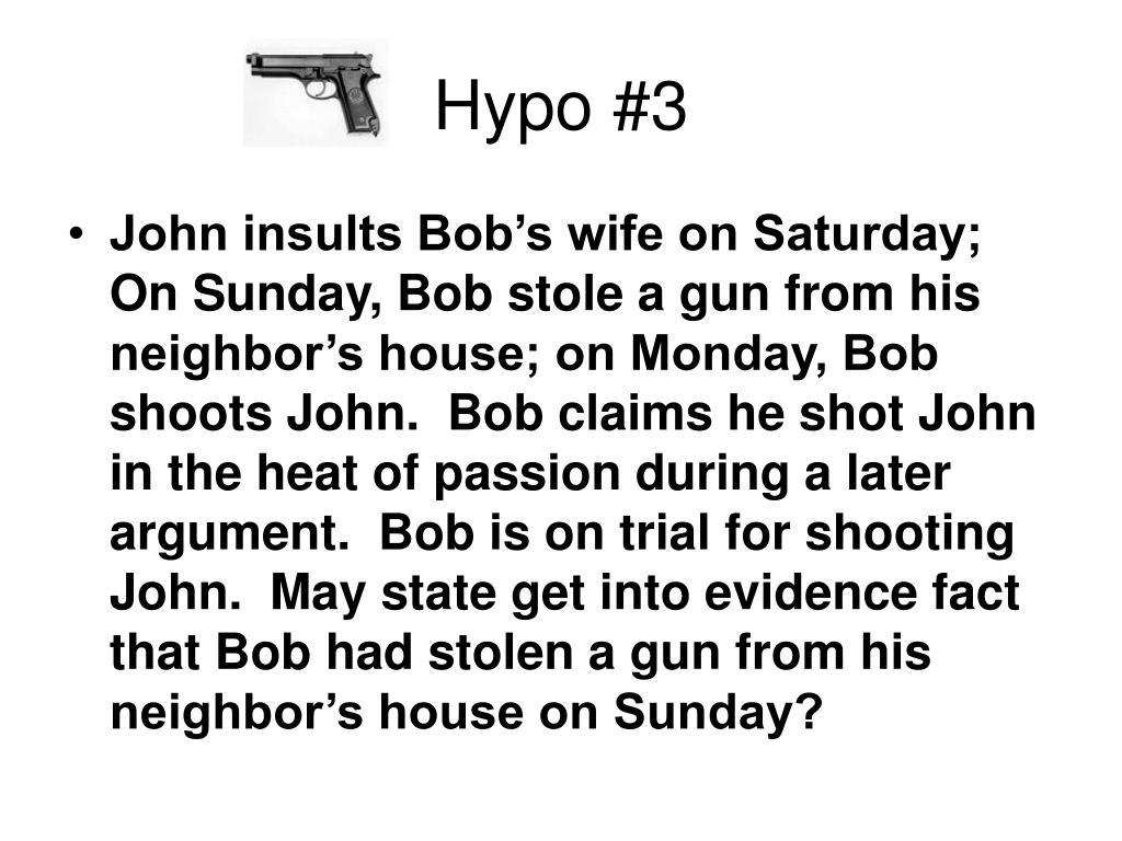 Hypo #3