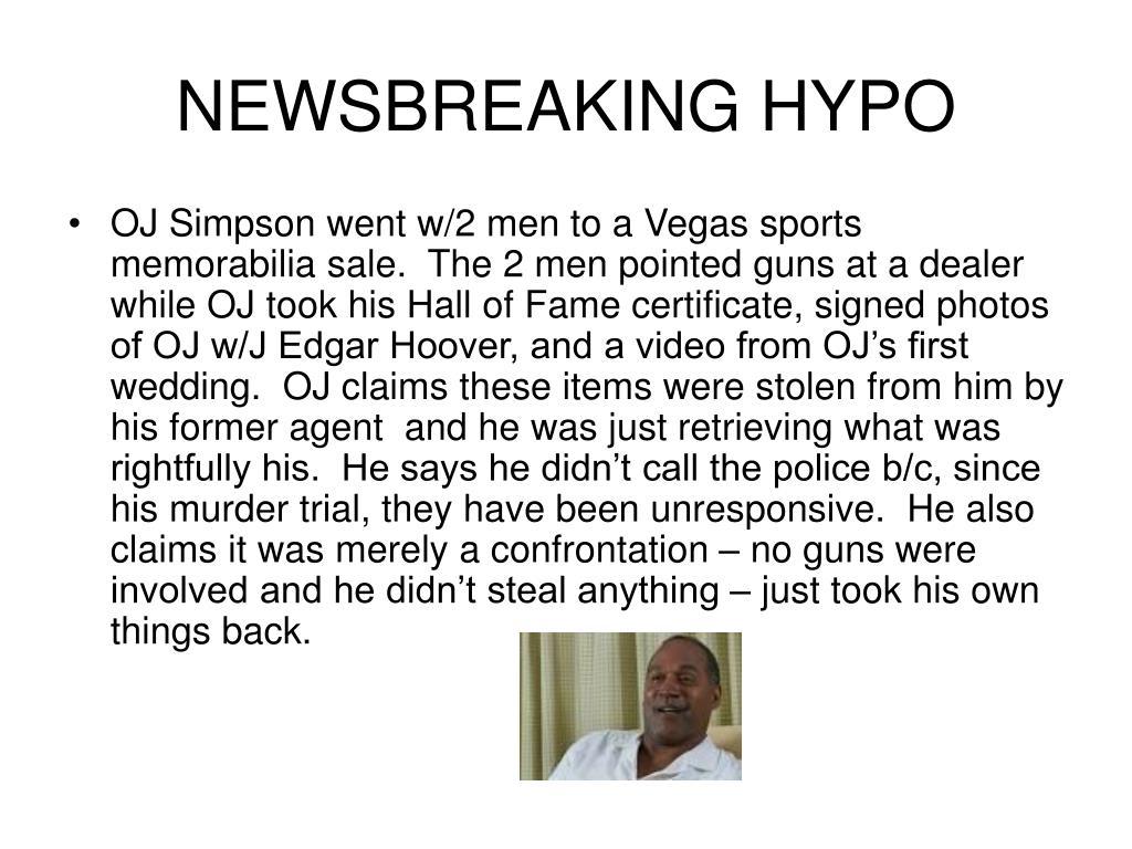 NEWSBREAKING HYPO
