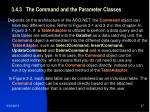 3 4 3 the command and the parameter classes27