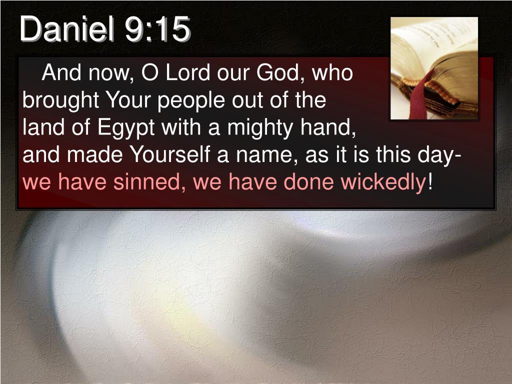 Daniel 9:15