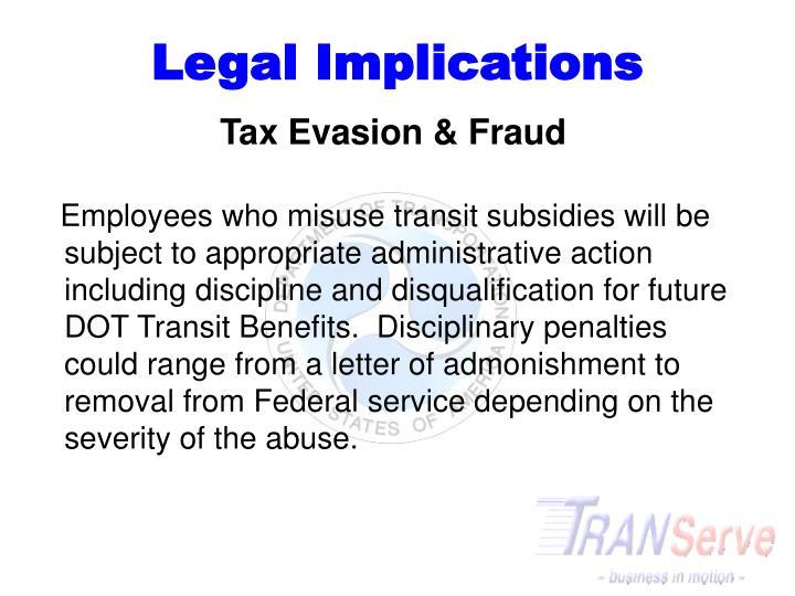 Legal Implications