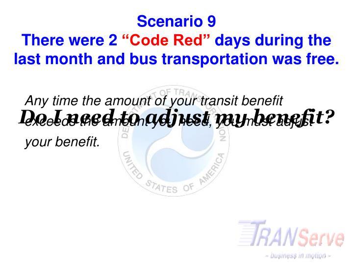Scenario 9