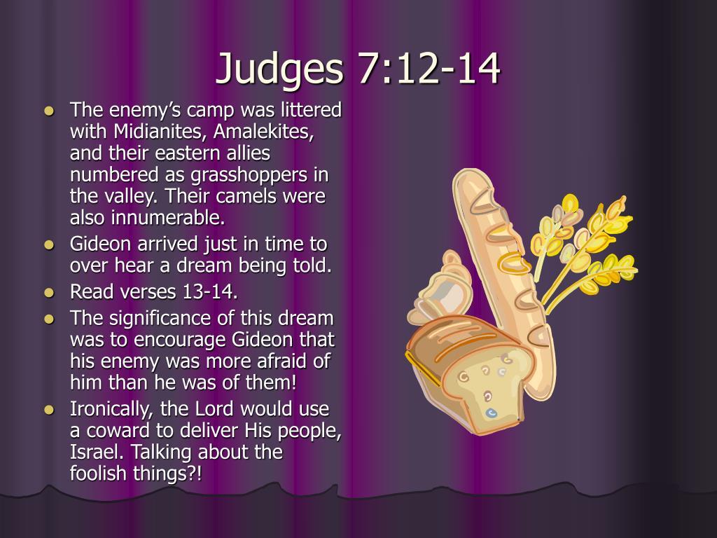 Judges 7:12-14