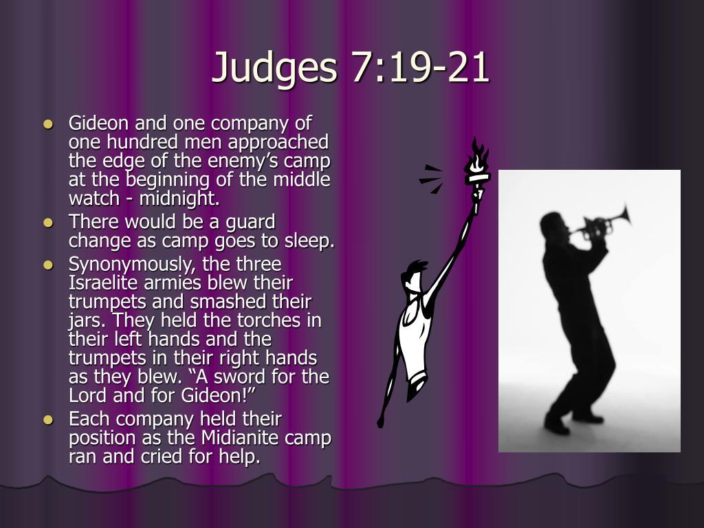 Judges 7:19-21