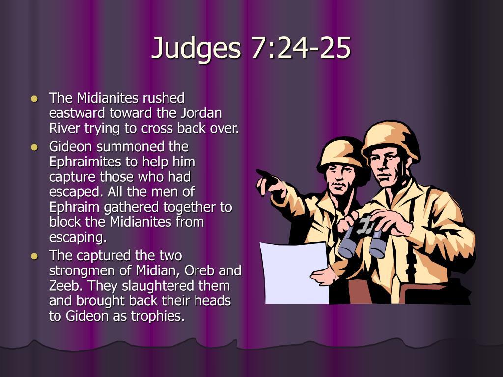 Judges 7:24-25