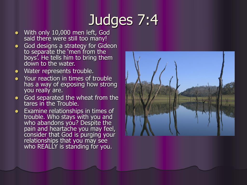 Judges 7:4