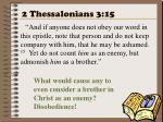 2 thessalonians 3 15