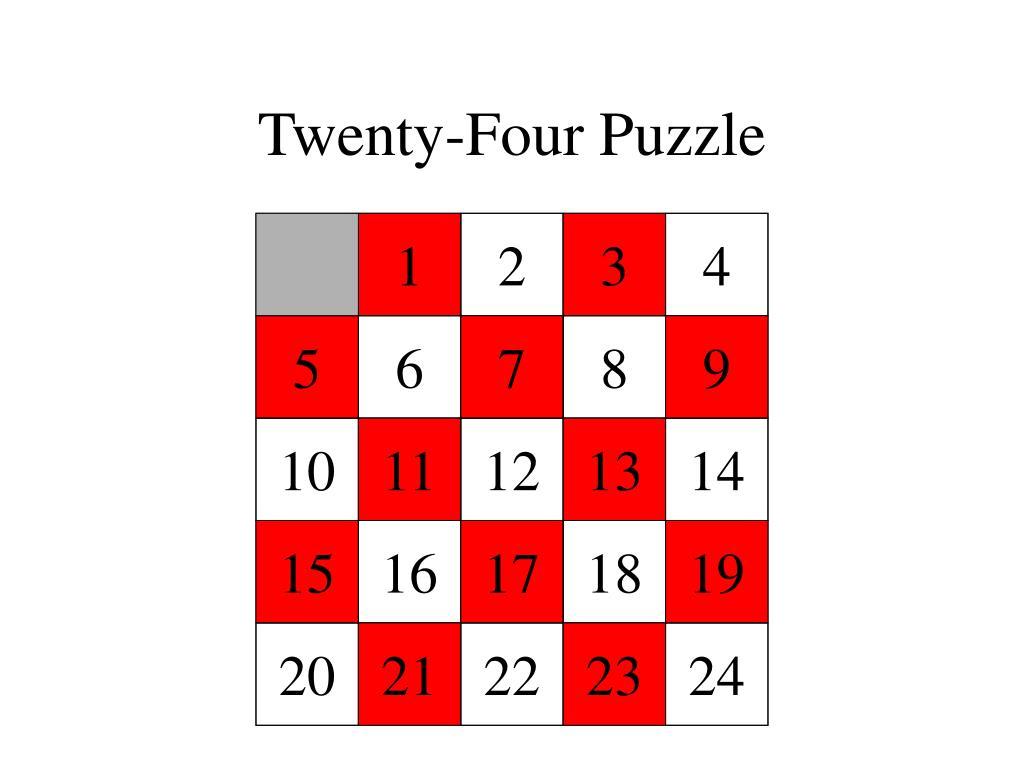 Twenty-Four Puzzle
