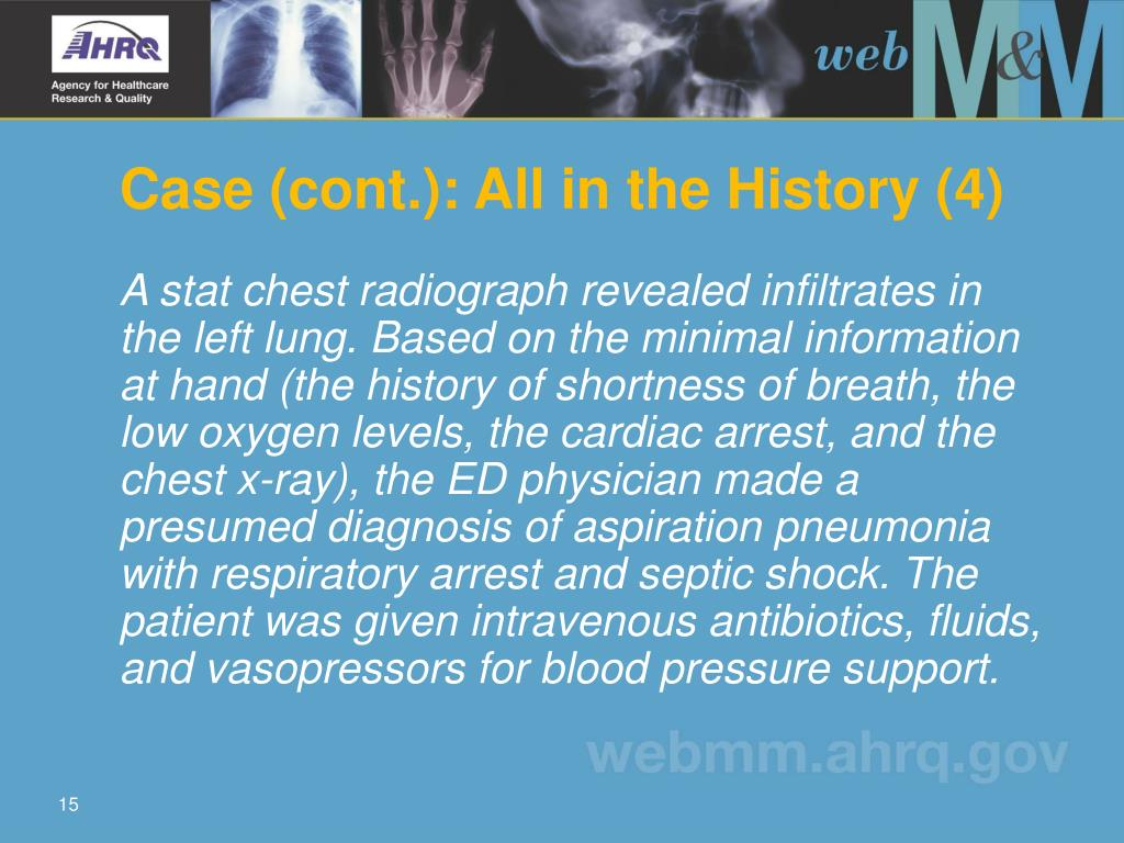 Case (cont.): All in the History (4)