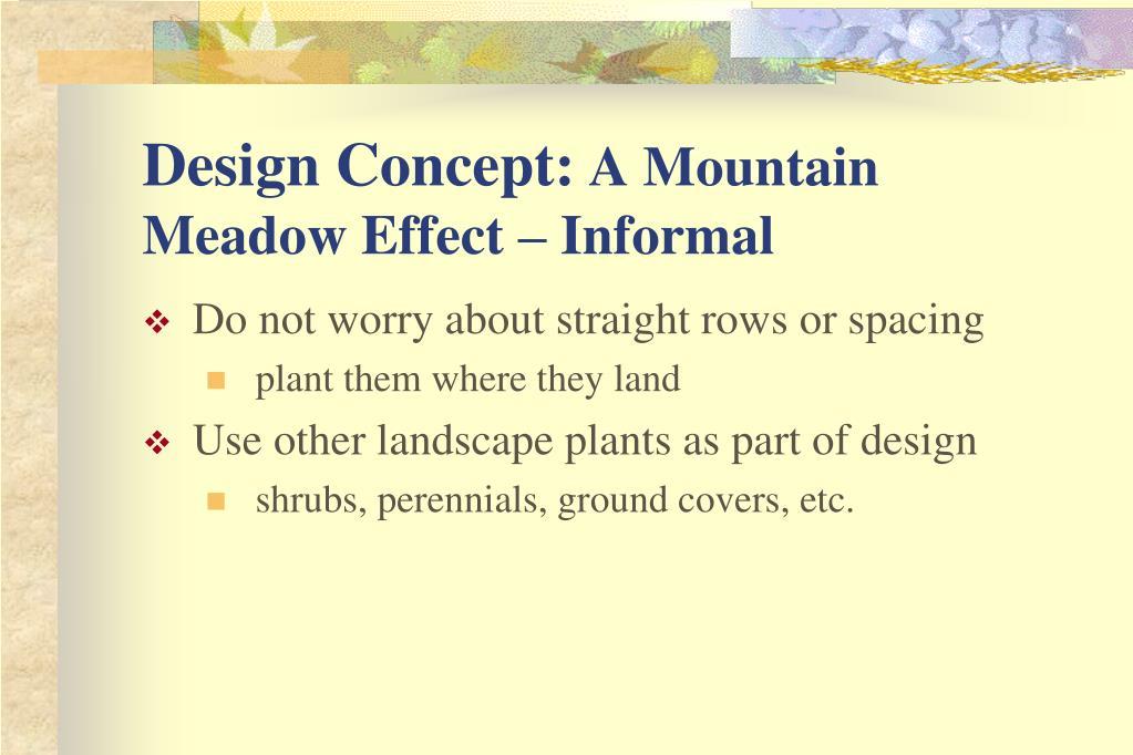 Design Concept: