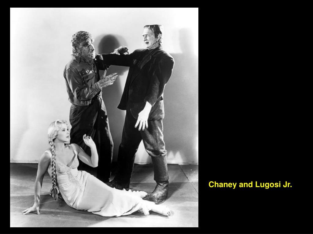 Chaney and Lugosi Jr.