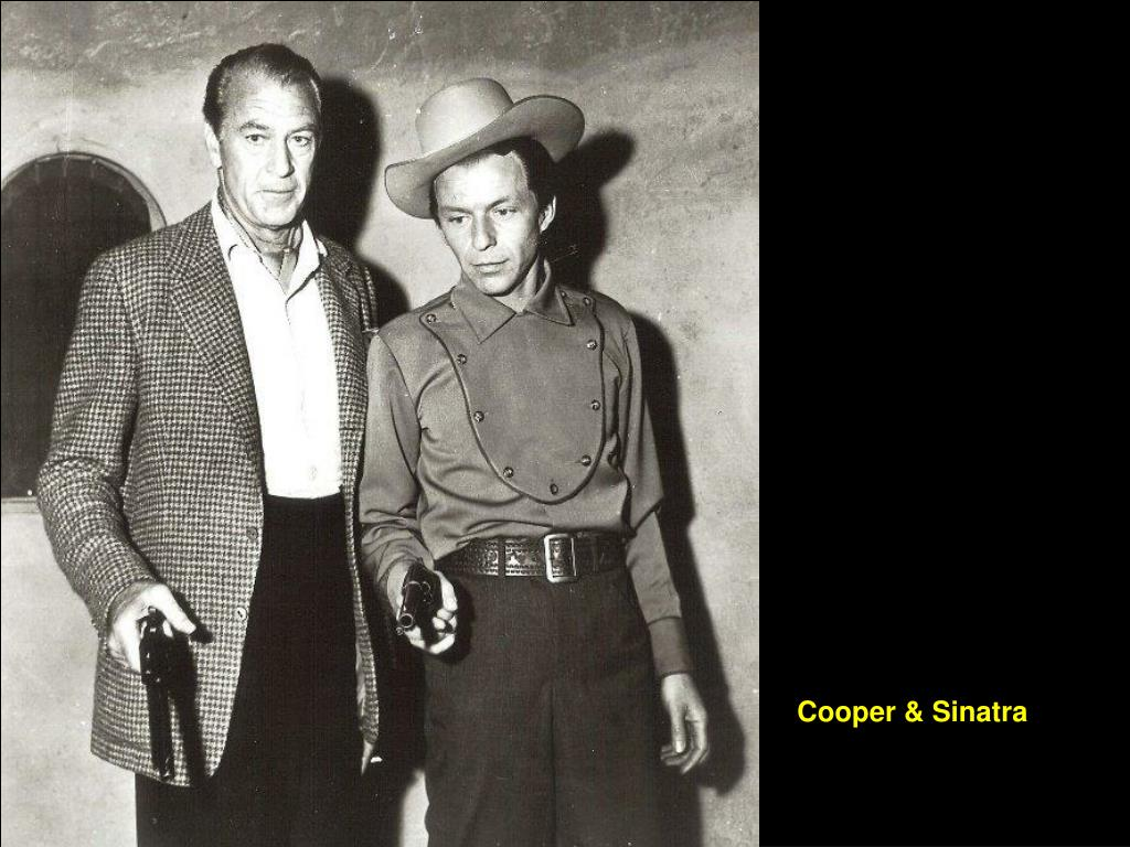 Cooper & Sinatra