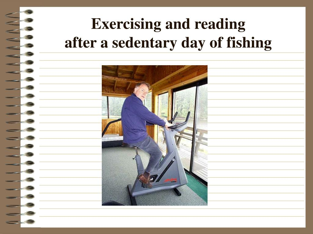 Exercising and reading