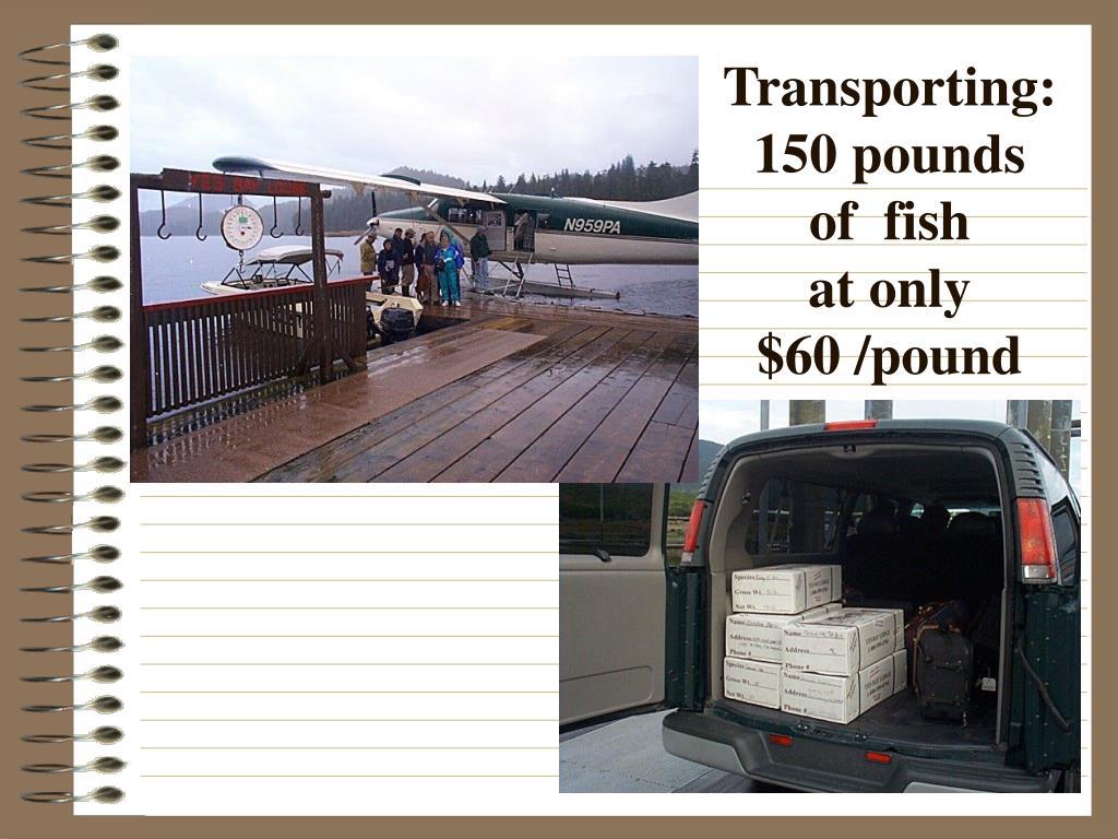 Transporting: