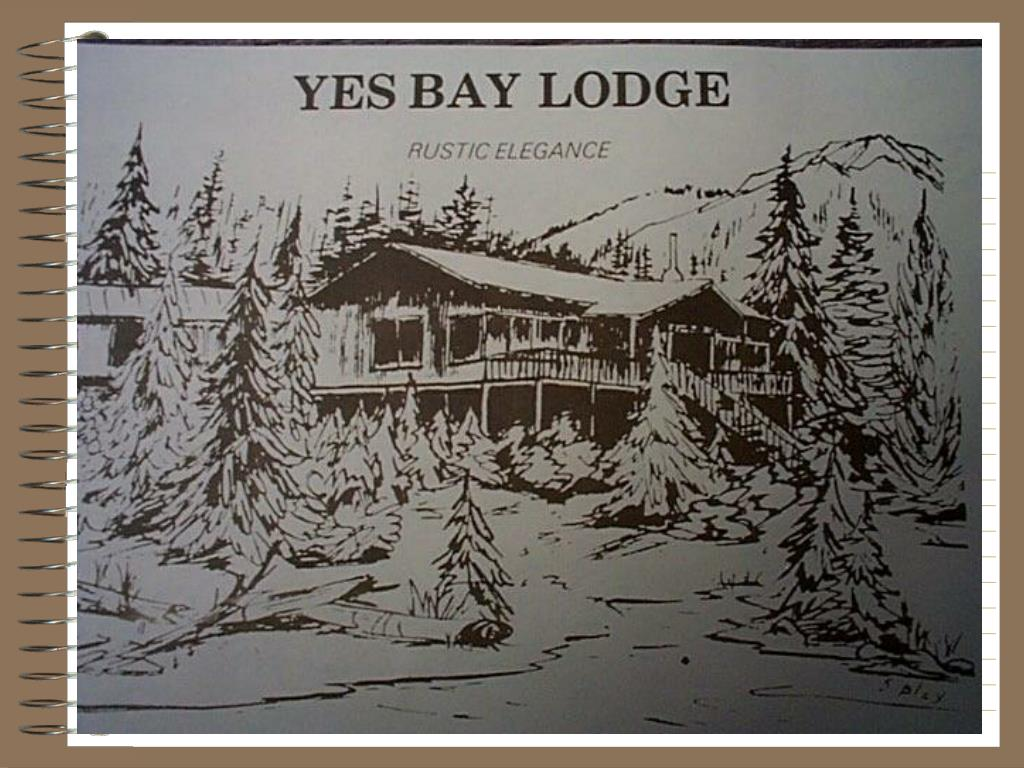 Yes Bay Lodge: Rustic Elegance