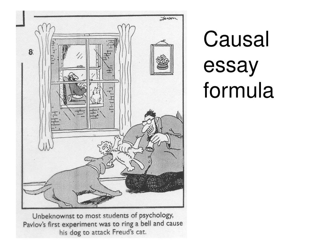 Causal essay formula