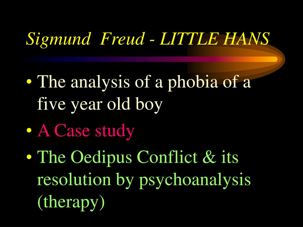case study sigmund freud Dora: an analysis of a case of hysteria study guide contains a biography of  sigmund freud, literature essays, quiz questions, major themes, characters, and  a.
