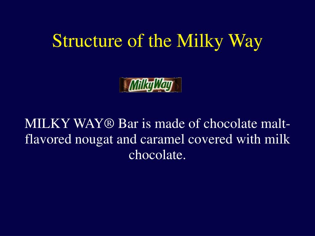 MILKY WAY® Bar is made of chocolate malt-flavored nougat and caramel covered with milk chocolate.