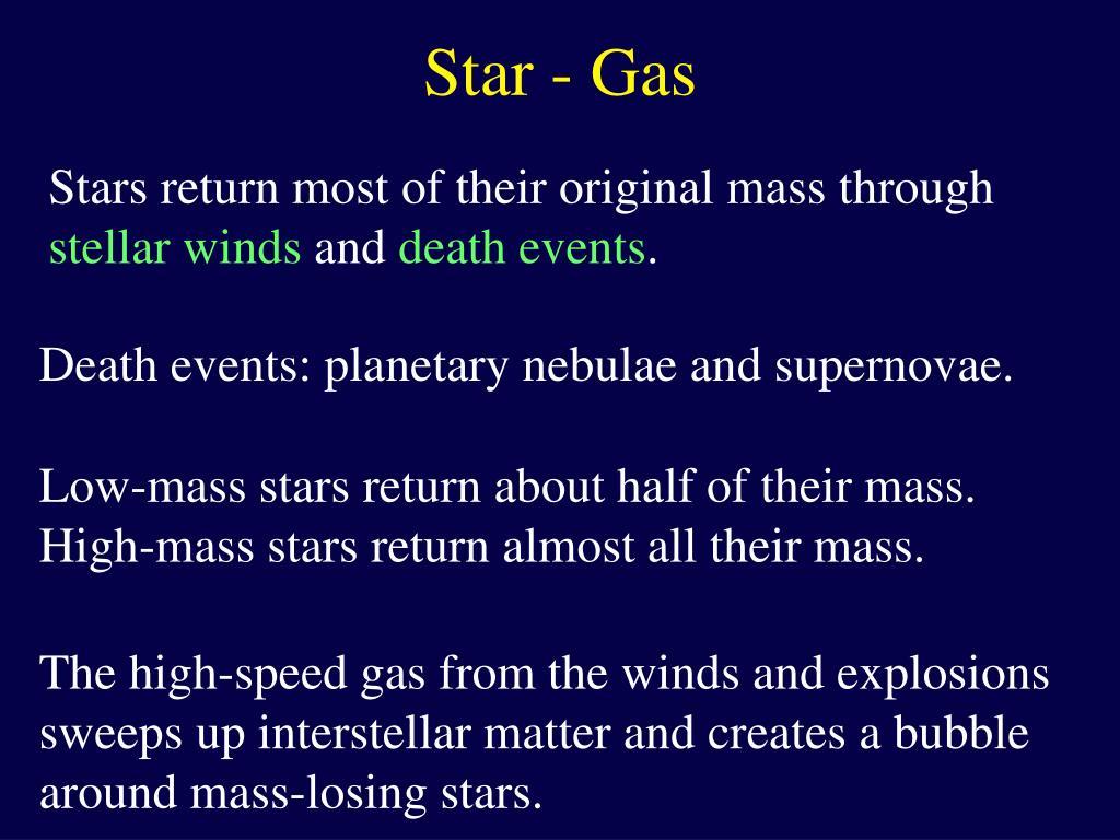 Star - Gas