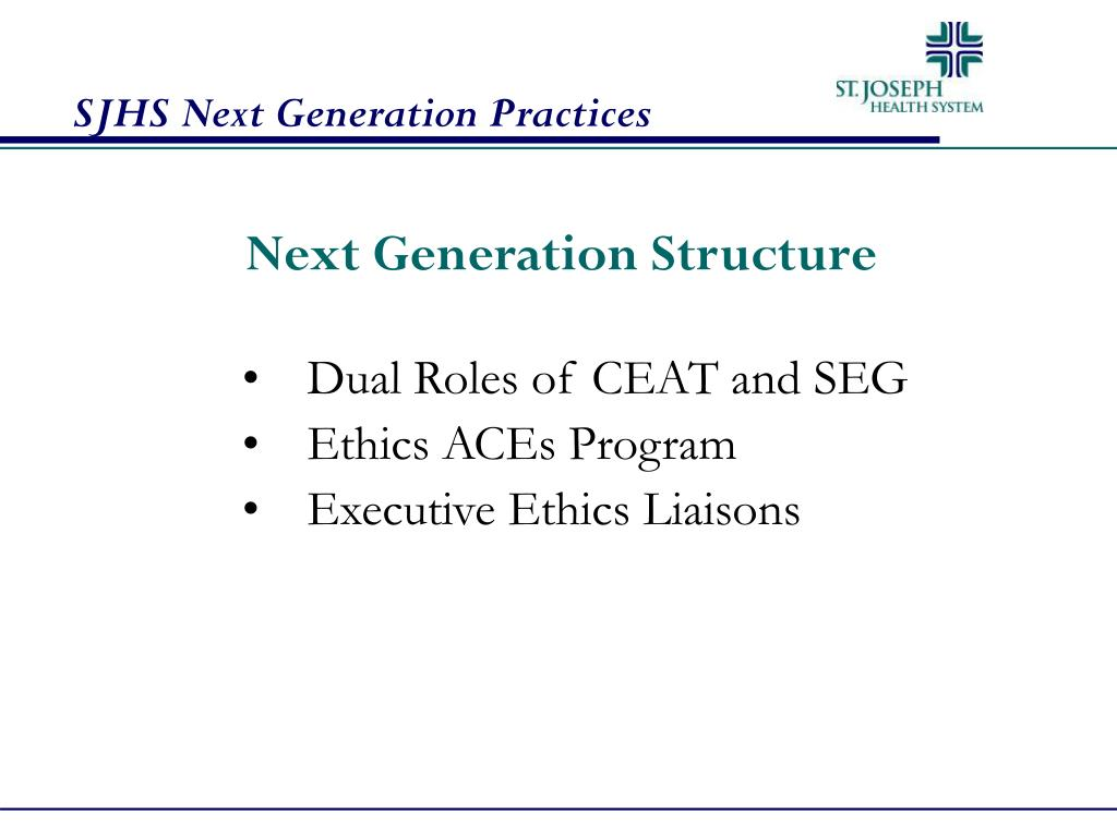 Next Generation Structure