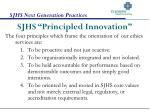sjhs principled innovation