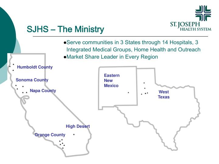 Sjhs the ministry