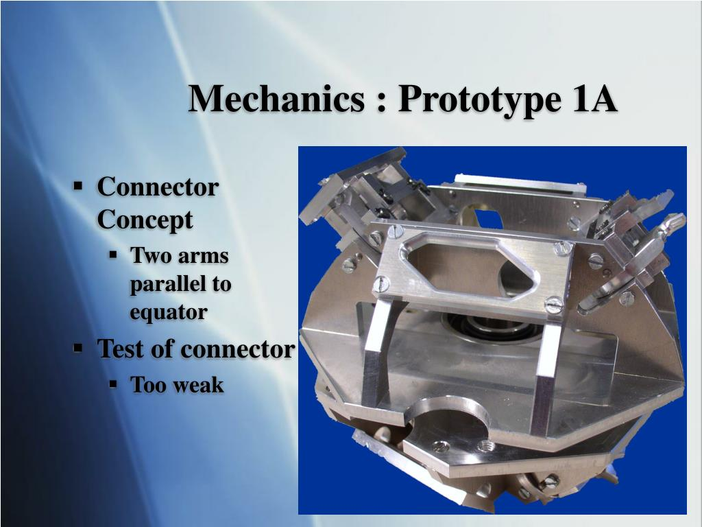 Mechanics : Prototype 1A