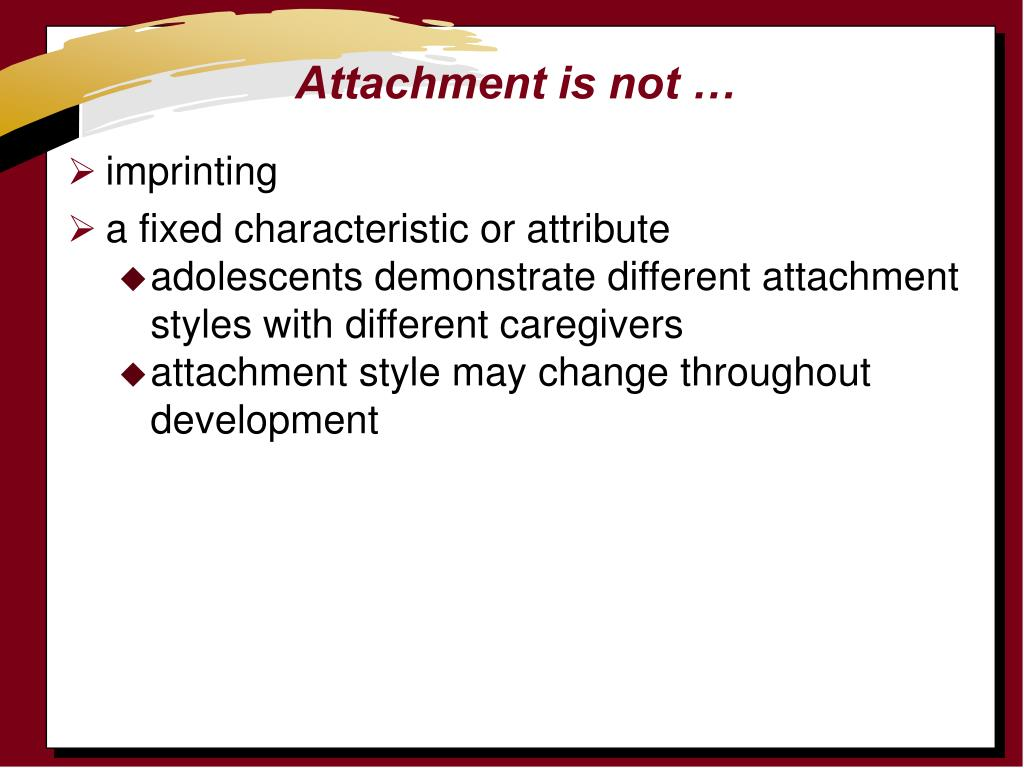 Attachment is not …