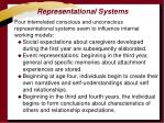 representational systems