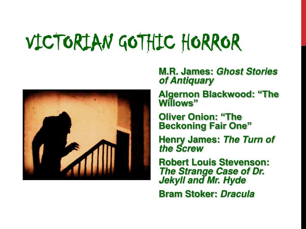 Victorian Gothic Horror