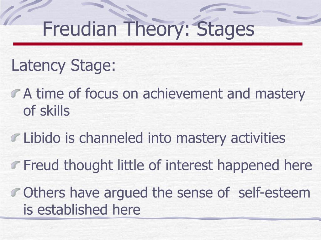 Freudian Theory: Stages