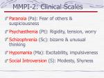 mmpi 2 clinical scales87